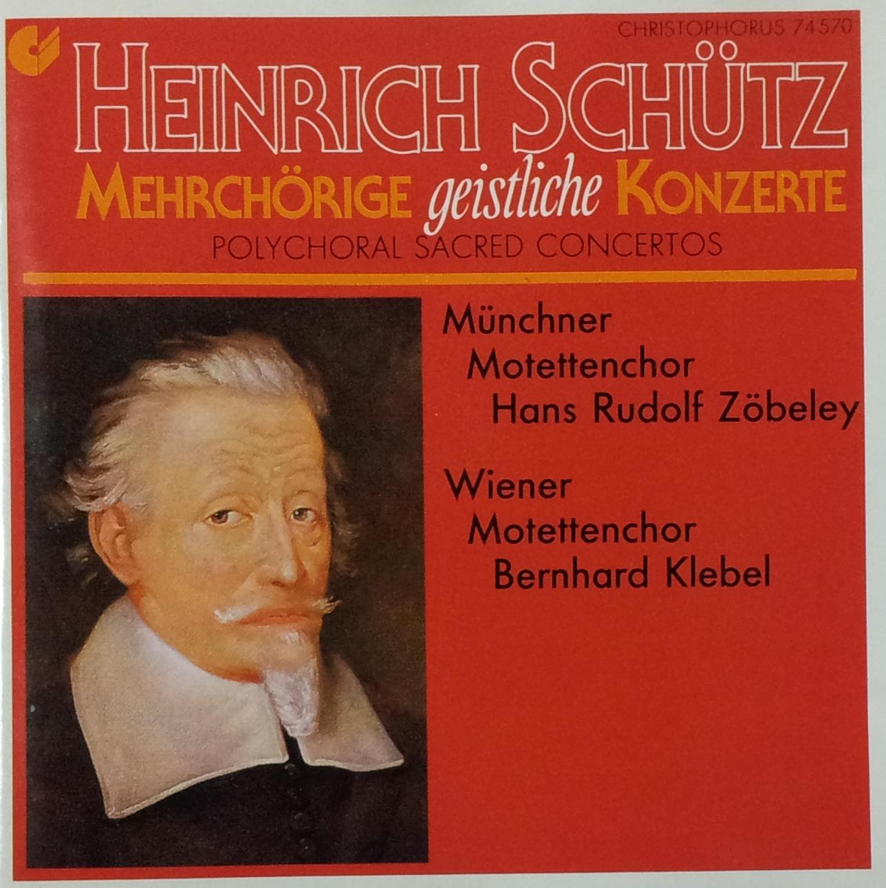 Mehrch�rige geistliche Konzerte (Sch�tz, Heinrich)
