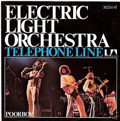 Telephone line / Poorboy (The Greenwood)