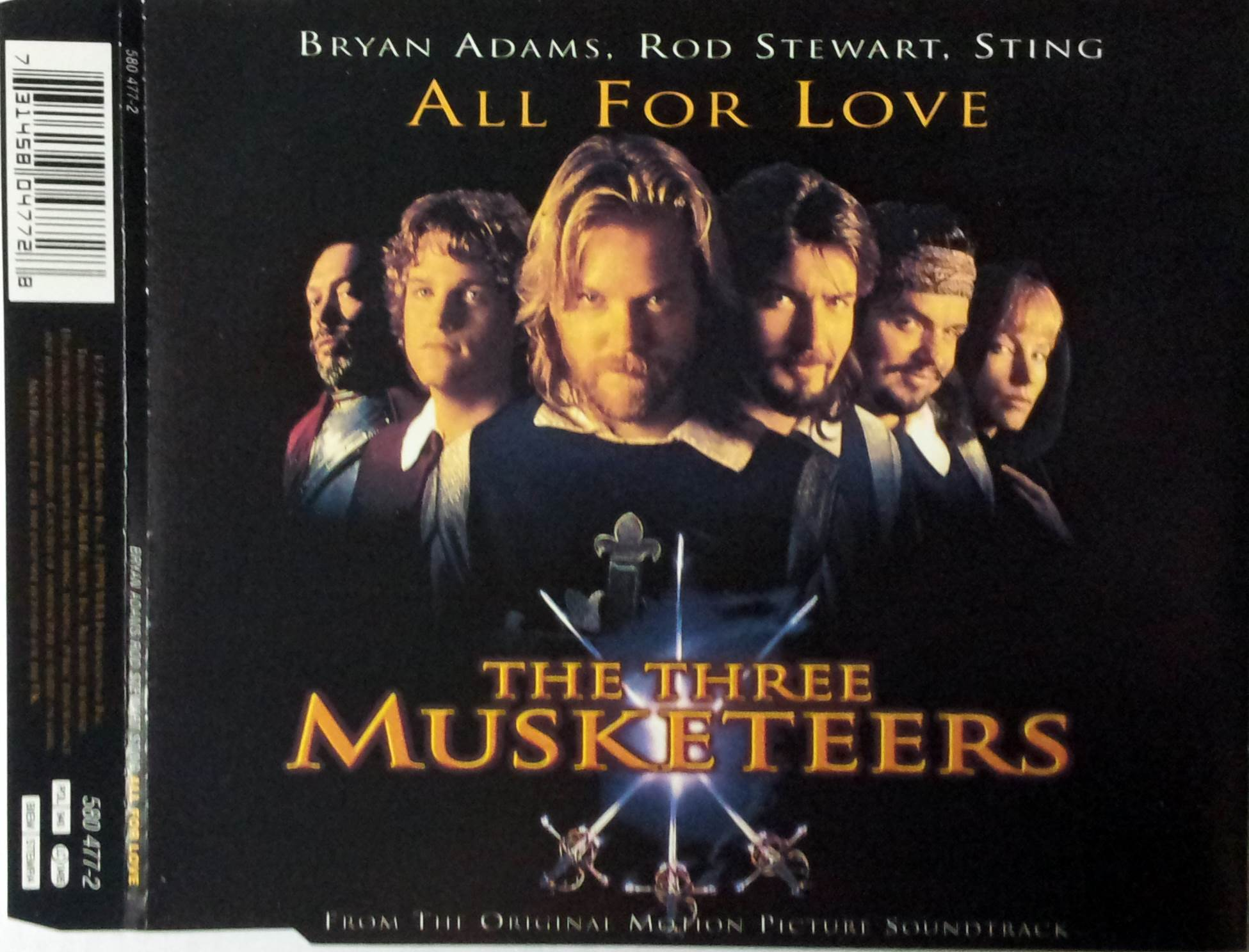 All for love (Soundtrack Three Musketeers)