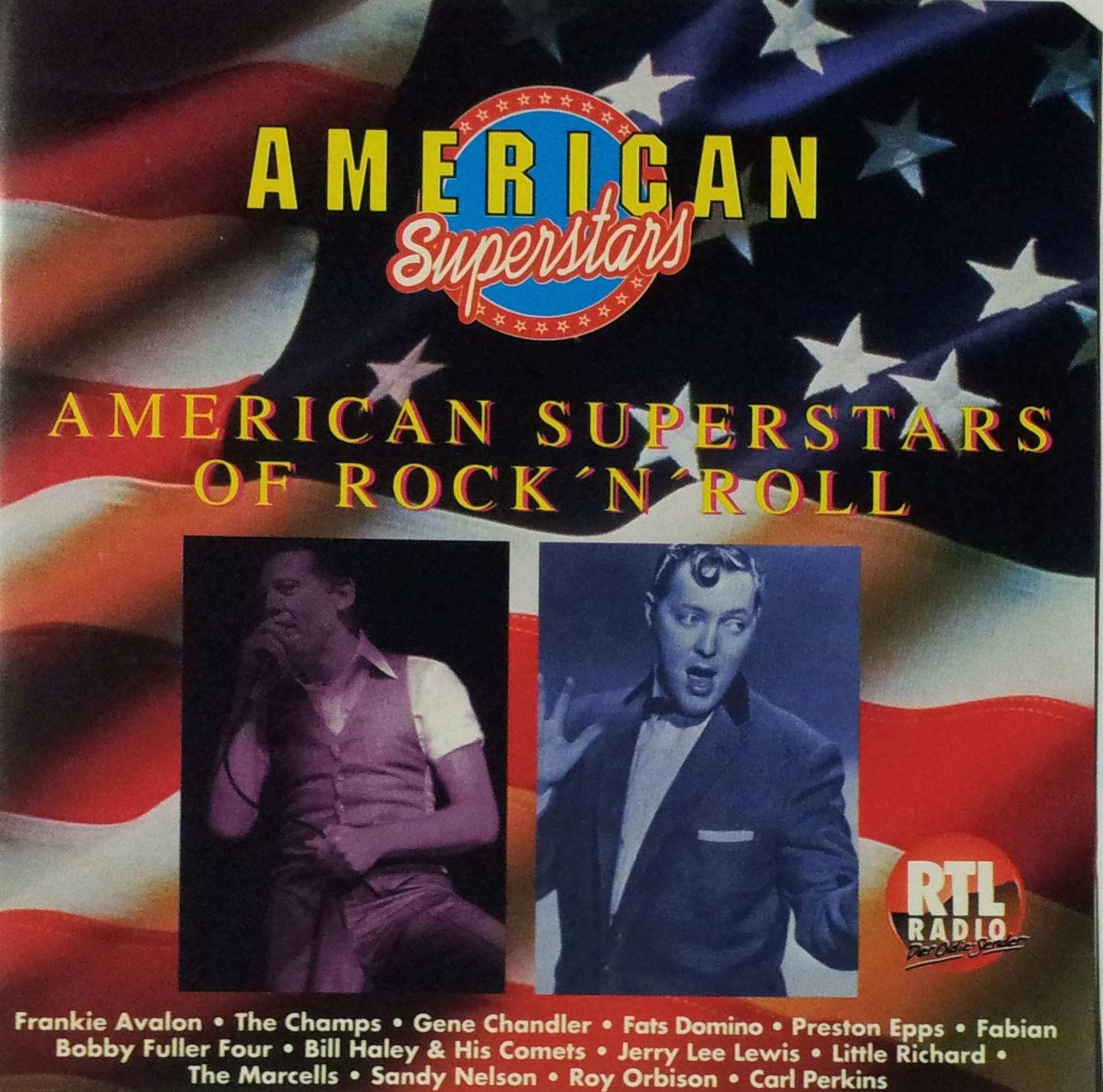 American Superstars of rock 'n' roll