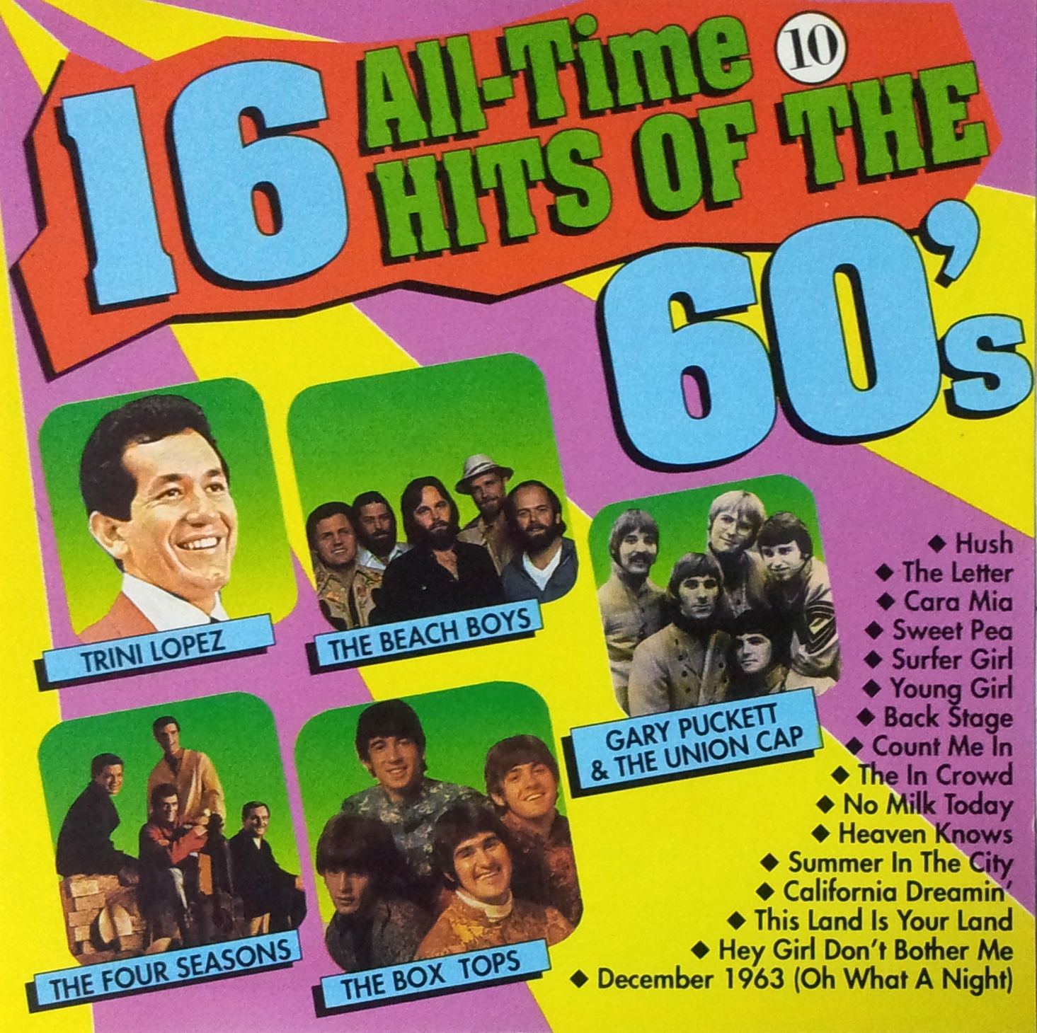 16 All Time hits of the 60's -10