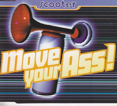 Move your ass (Pappcover)