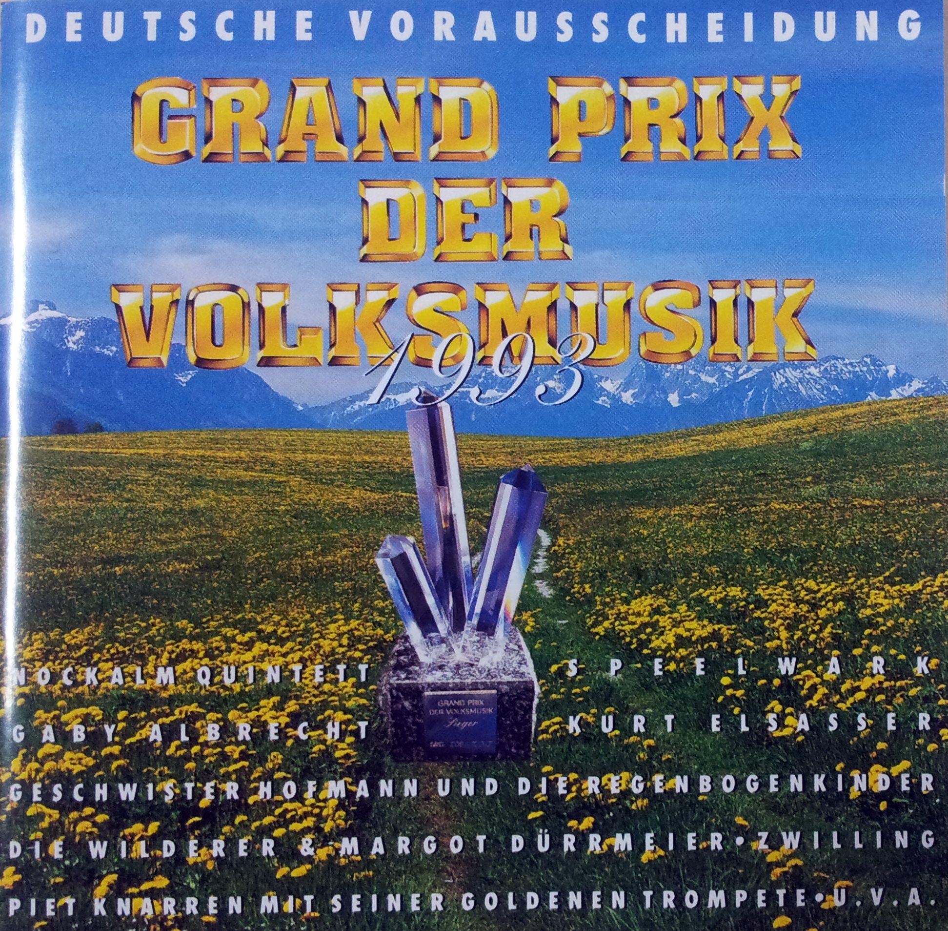 Grand Prix der Volksmusik 1993 - Deutsche Vorentscheidung