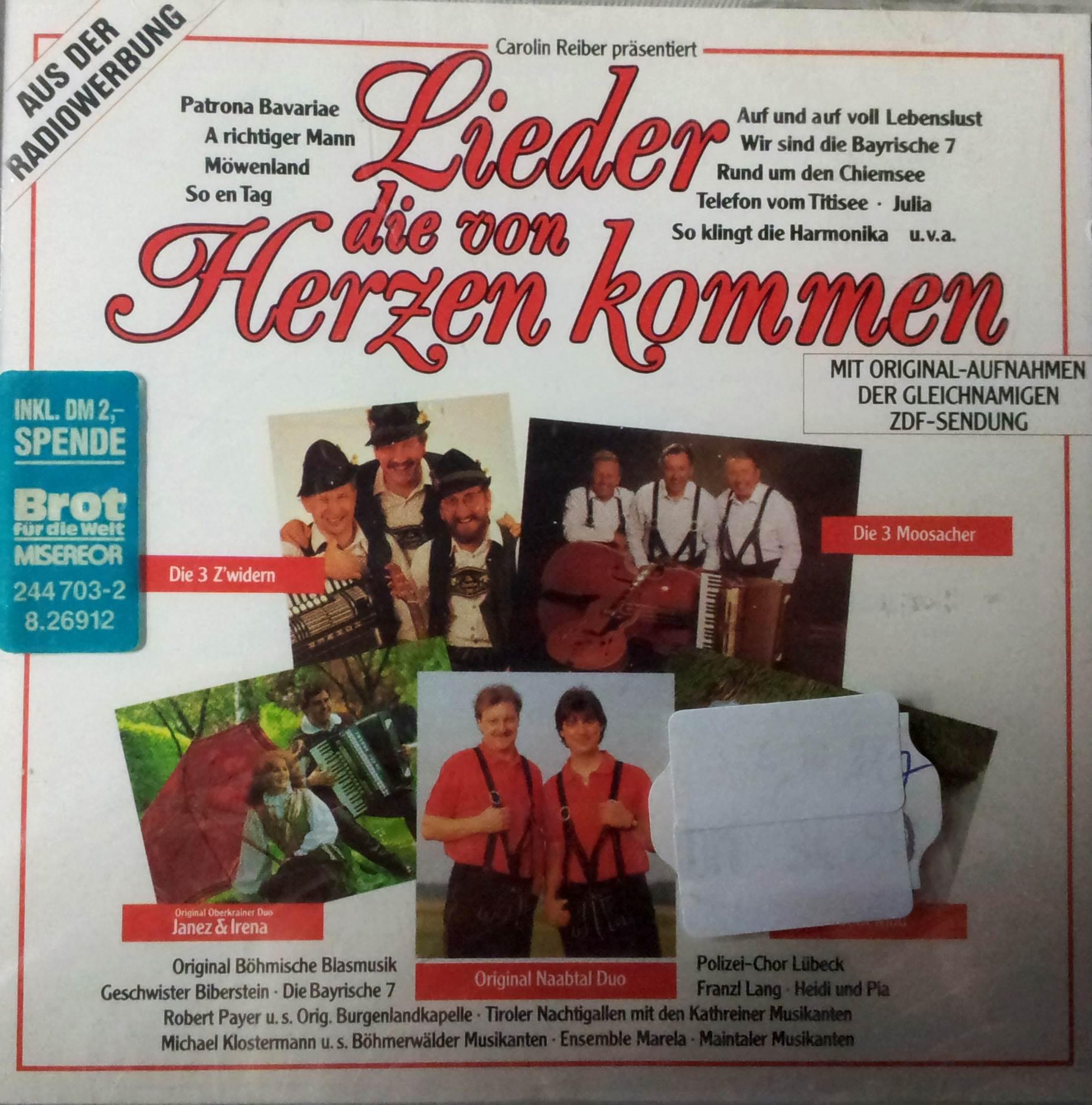 Lieder die von Herzen kommen - Carolin Reiber präsentiert